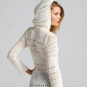 Victoria's Secret Hooded Cover-up Stretch V Neck